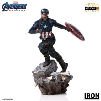 Image Avengers 4: Endgame - Captain America 1:10 Deluxe Scale Statue