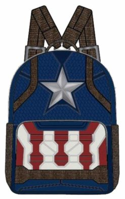 Image Avengers 4: Endgame - Captain America Costume Mini Backpack