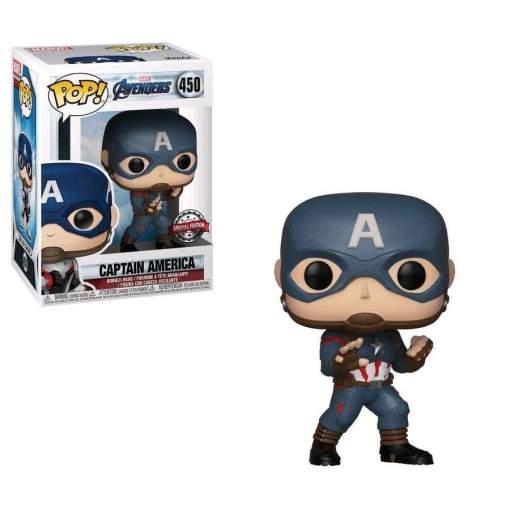 Image Avengers 4: Endgame - Captain America US Exclusive Pop! Vinyl [RS]