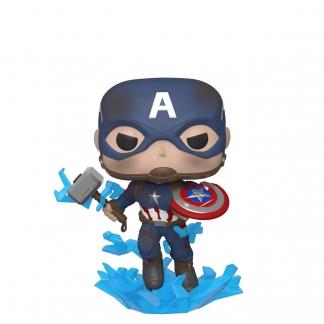 Image Avengers 4: Endgame - Captain America with Mjolnir Pop! Vinyl Figure