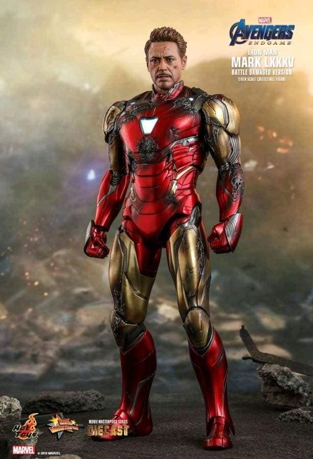 Avengers 4: Endgame – Iron Man Mark LXXXV (Battle Damaged) Diecast 1/6th Scale Action Figure