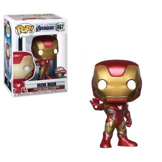 Image Avengers 4: Endgame - Iron Man US Exclusive Pop! Vinyl [RS]