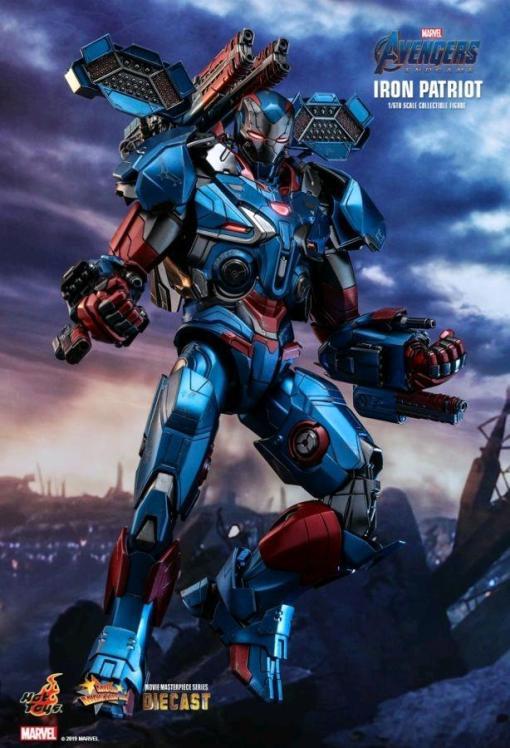 Image Avengers 4: Endgame - Iron Patriot Diecast 1/6th Scale Action Figure