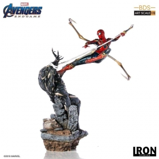 Image Avengers 4: Endgame - Iron Spider vs Outrider 1:10 Scale Statue
