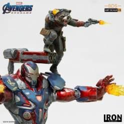 Image Avengers 4: Endgame - War Machine & Rocket 1:10 Scale Statue