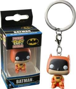 Image Batman - 75th Anniv Orange Pop! Keychain