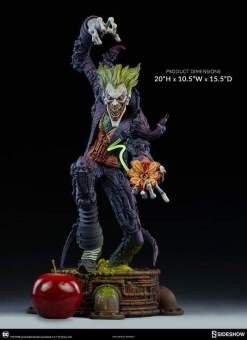 Image Batman - Joker Gotham City Nightmare Statue