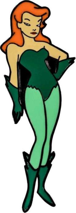 Image Batman: The Animated Series - Poison Ivy Enamel Pin
