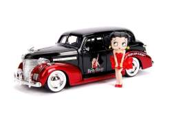 Image Betty Boop - 1939 Chevy Master Deluxe 1:24 with Figure Hollywood Ride