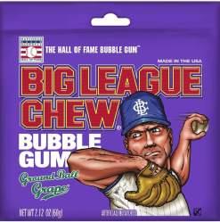 Image Big League Chew - Grape Bubble Gum