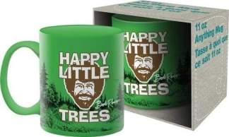Image Bob Ross Happy Little Trees Coffee Mug