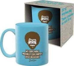 Image Bob Ross - We Don't Make Mistakes