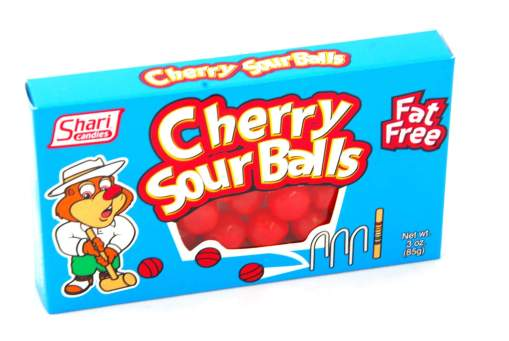 Image Cherry Sour Balls