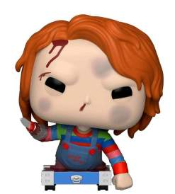 Image Childs Play - Chucky on Cart US Exclusive Pop! Vinyl [RS]