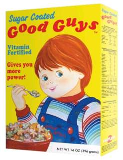 Image Child's Play - Good Guys Cereal Box