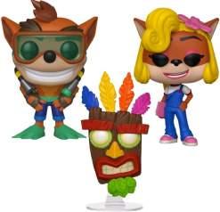 Image Crash Bandicoot Pop! Bundle (Set of 3)