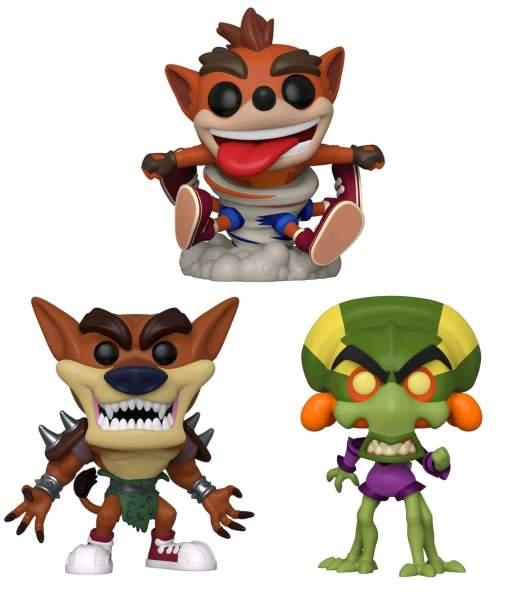 Image Crash Bandicoot Pop! Pre-Order Bundle (Set of 3)
