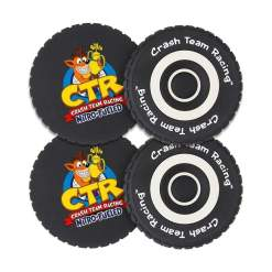 Image Crash Team Racing - Tyre Coasters (4-Pack)