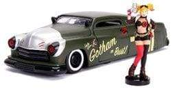 Image DC Bombshells - Harley Quinn 1951 Mercury 1:24 Scale Hollywood Rides Diecast Vehicle