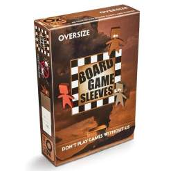 Image DS Board Game Sleeves (50) Over Size NonGlare