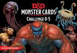 Image D&D Spellbook Cards Monster Deck 0-5 (179 cards)