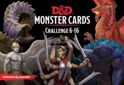 Image D&D Spellbook Cards Monster Deck 6-16 (74 cards)
