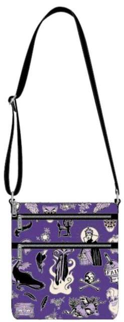 Image Disney - Villains Purple Passport Bag