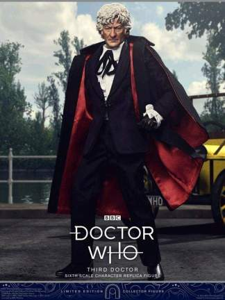 """Image Doctor Who - Third Doctor 1:6 Scale 12"""" Action Figure"""