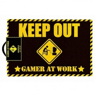 Image Doormat - Gamer at Work