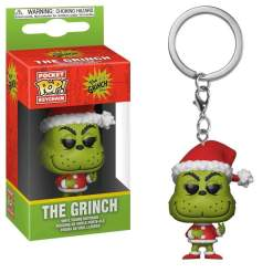 Image Dr Seuss - Grinch Christmas Pop! Keychain RS