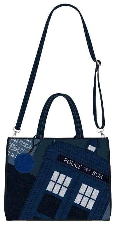 Image Dr Who - Police Box Print Tote