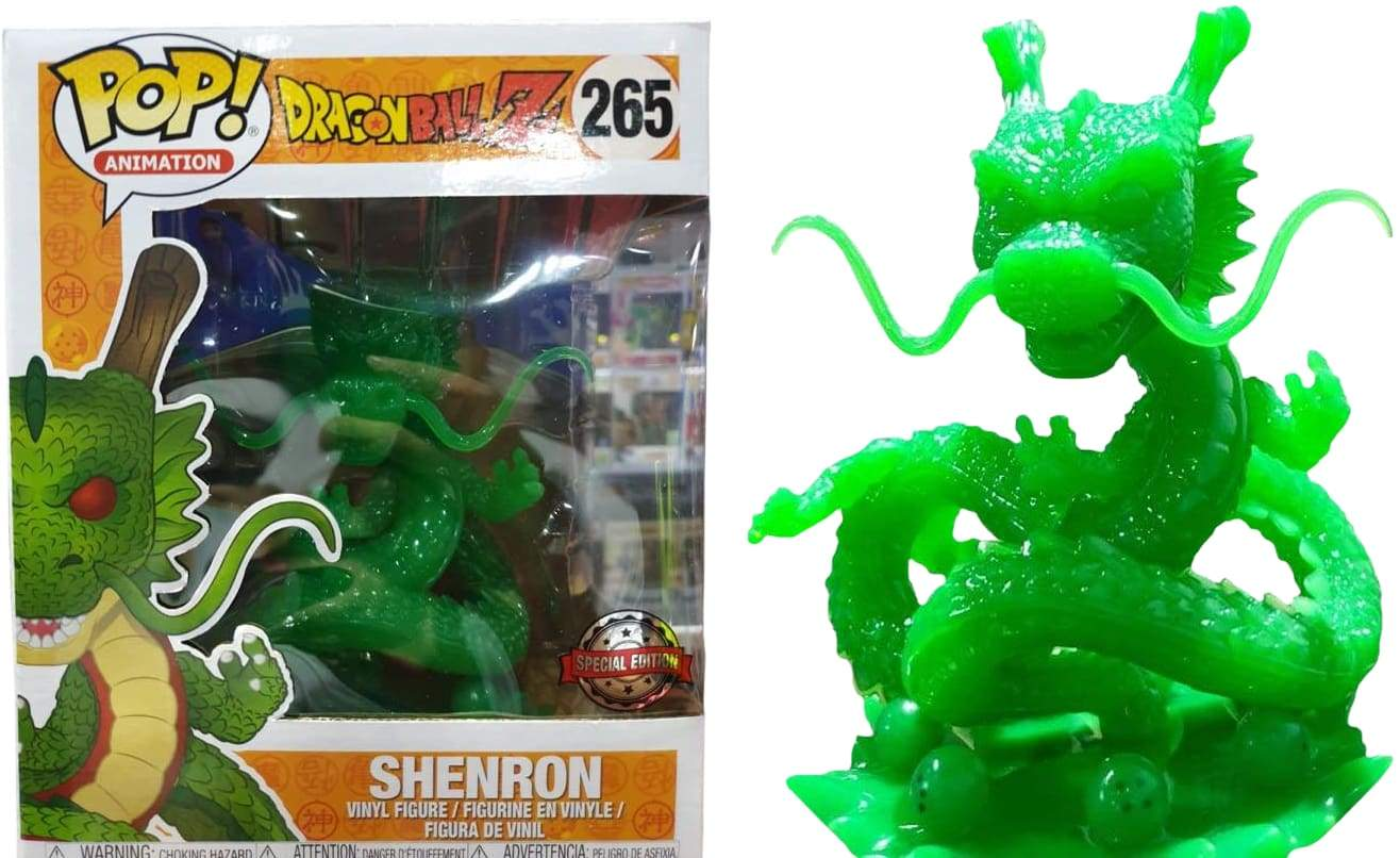"Image Dragon Ball Z - Shenron (Jade) US Exclusive 6"" Pop! Vinyl [RS] Exclusive 6"" Pop! Vinyl [RS]"