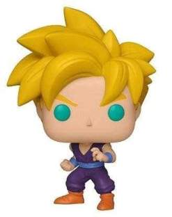 Image Dragon Ball Z - Super Saiyan Gohan (Youth) US Exclusive Pop! Vinyl [RS