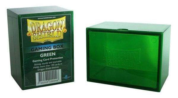 Dragon Shield Deck Strong Box Green