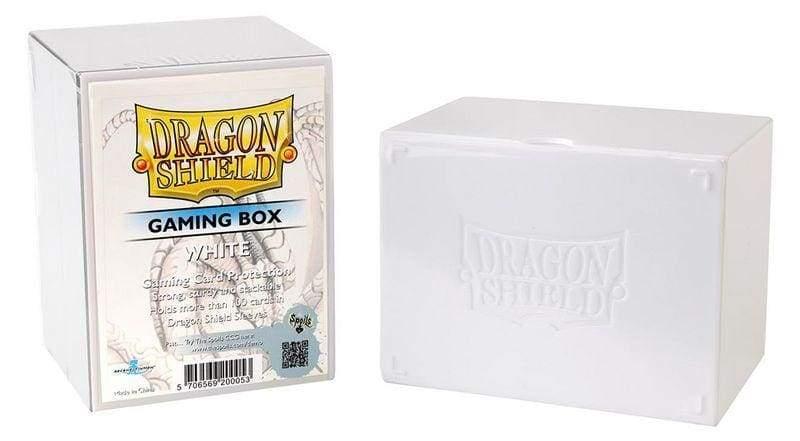 Dragon Shield Deck Strong Box White