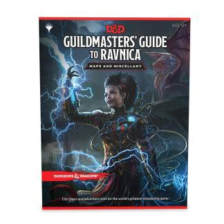 Image Dungeons & Dragon's Waterdeep Maps and Miscellany Guildmater's Guide to Ravnica