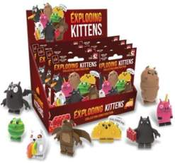 Image Exploding Kittens Mini Figure Blind Bag