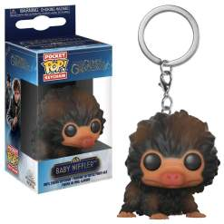 Image Fantastic Beasts 2 - Baby Niffler Brown Standing Pocket Pop! Keychain