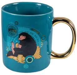 Image Fantastic Beasts - Niffler Gold Electroplated Mug
