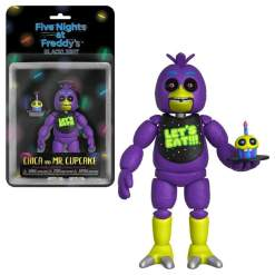"""Image Five Nights at Freddy's - Chica Black Light 5"""" Action Figure"""
