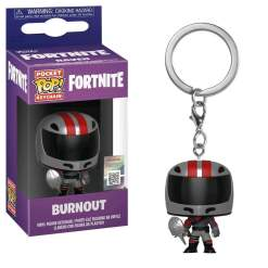 Image Fortnite - Burnout Pocket Pop! Keychain