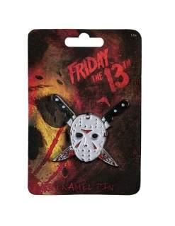 Image Friday the 13th - Jason Mask Enamel Pin