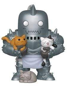 Image Fullmetal Alchemist - Alphonse Elric with Kittens US Exclusive Pop! Vinyl [RS]