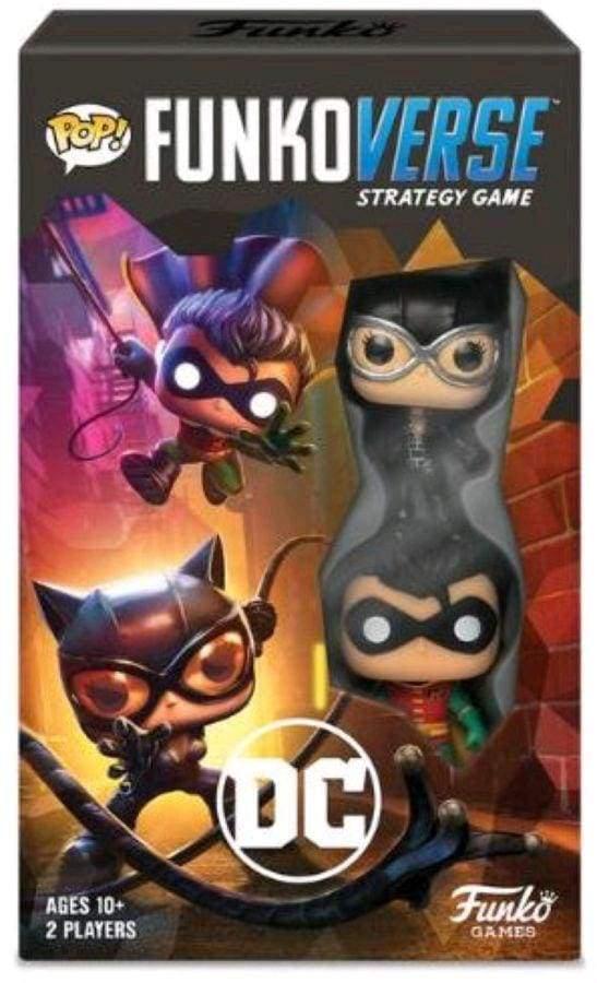 Image Funkoverse - Batman 2-Pack Expandalone Strategy Board Game