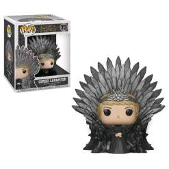 Image Game of Thrones - Cersei on Iron Throne Pop! Deluxe
