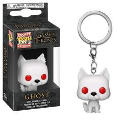 Image Game of Thrones - Ghost Pocket Pop! Keychain