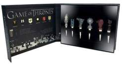 Image Game of Thrones - House Sigil Wine Stoppers Set Of 6