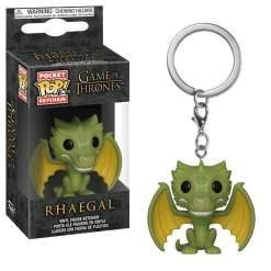 Image Game of Thrones - Rhaegal Pocket Pop! Keychain