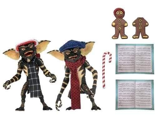 """Image Gremlins - Christmas Carol Gremlin 7"""" Action Figure 2-pack #1"""