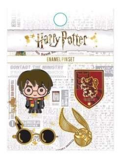 Image Harry Potter - Enamel Pin 4pk